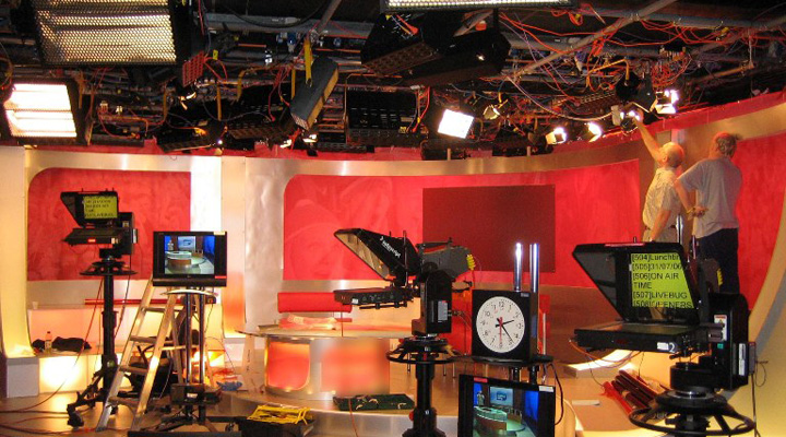 Television Studio Design in Naples and all of Florida
